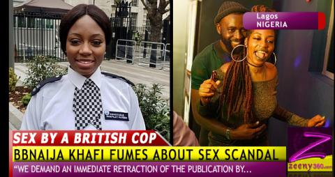 SEX BY A BRITISH COP: KHAFI FUMES, TO TAKE ACTION AGAINST SCANDAL!