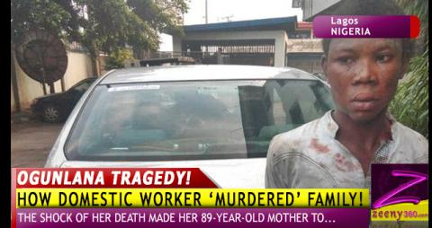 HOW DOMESTIC WORKER 'MURDERED' EMPLOYER A DAY AFTER RESUMPTION - OTHERS DIE