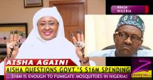 AISHA BUHARI AGAIN! QUESTIONS $16M SPENT ON MOSQUITO NET SHE DIDN'T GET