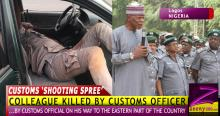 QUESTIONS AS, ENROUTE EASTERN NIGERIA, CUSTOMS OFFICER KILLS COLLEAGUE!