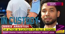 'GAY TUPAC' EMPIRE ACTOR, JUSSIE ARRESTED BY CHICAGO POLICE FOR FALSE REPORT!