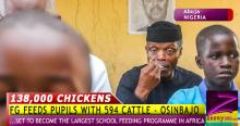 SHOCKING: HOW FG SPENDS N635m DAILY ON COWS, EGGS, OTHERS TO FEED SCHOOL PUPILS?!