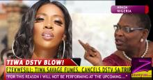 EKWESILI FUMES, TIWA SAVAGE DEALS DSTV A BLOW OVER XENOPHOBIA