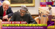 WHY NIGERIA GOVERNMENT REDUCED US VISA COST