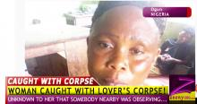HOW WOMAN, 45, WAS CAUGHT  DUMPING LOVER'S CORPSE IN A BUSH!