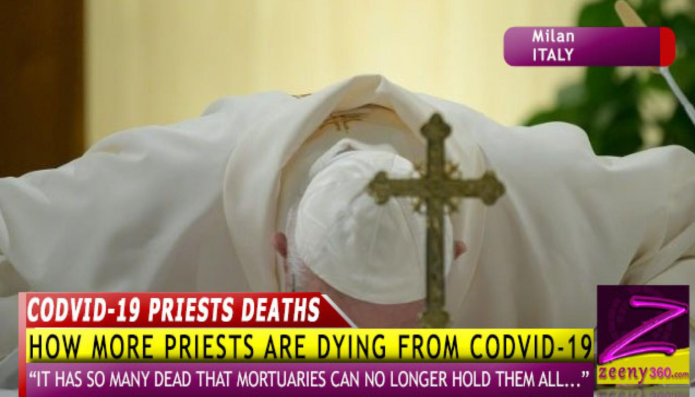 WHY MORE PRIESTS ARE DYING FROM NOVEL CORONAVIRUS