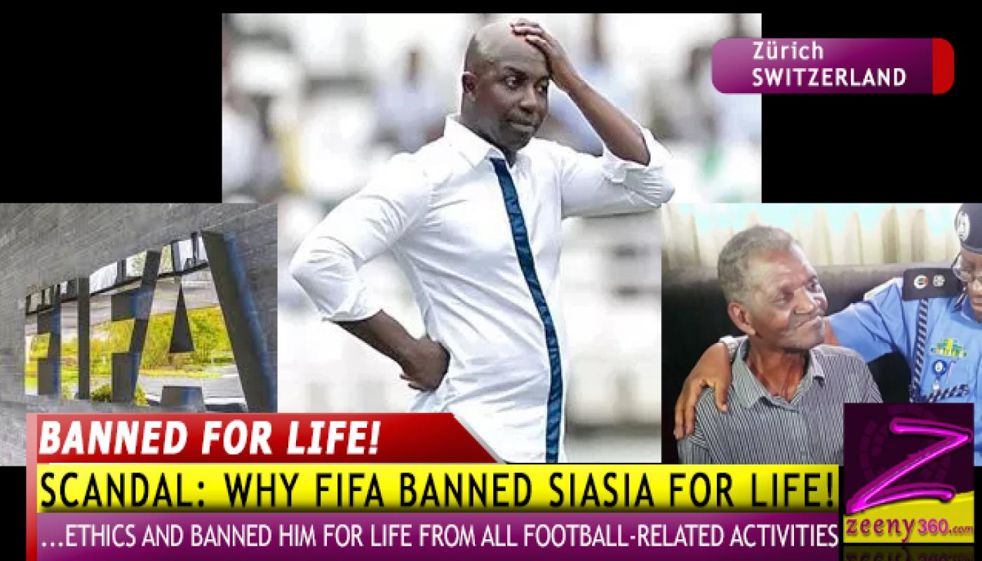 SHOCKING FIFA LIFE BAN OF NIGERIA'S SAMSON SIASIA AS MOTHER REMAINS KIDNAPPED