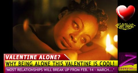 You might be better off alone this valentine