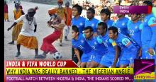 "FIFA WORLD CUP - WHY INDIA REALLY WAS ""BANNED"", THE NIGERIAN PERSPECTIVE!"